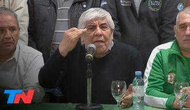 """La advertencia de Moyano al Gobierno: habrá más paros """"si sigue con esta política"""""""