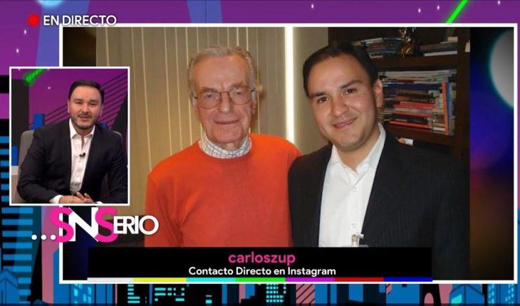 La trayectoria de Carlos Zuñiga   SNSerio