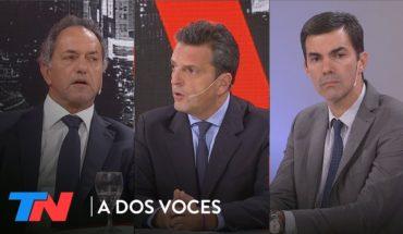 Scioli, Massa y Urtubey sobre el juicio a Cristina | A DOS VOCES