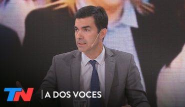 "Urtubey: ""Cristina ya fue""   A DOS VOCES"