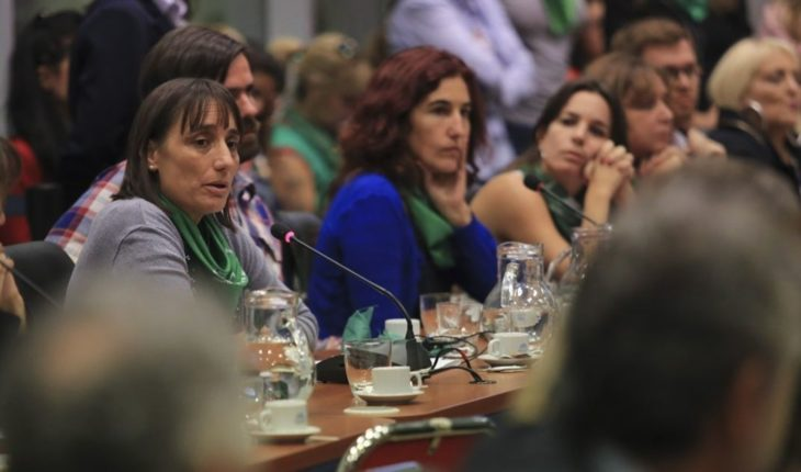 A congresswoman again raised a popular consultation to define abortion