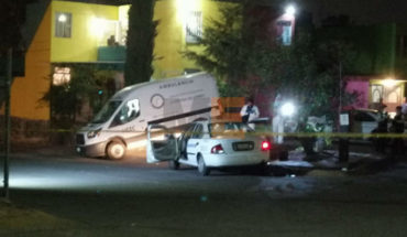 A taxi passenger is shot in Morelia; Driver injured in attack
