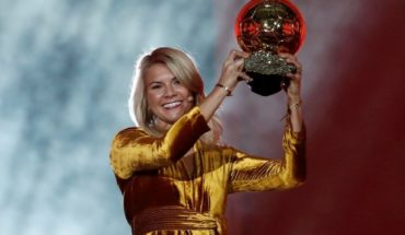ADA Hegerberg, the owner of Golden ball that will not play the World Cup in protest
