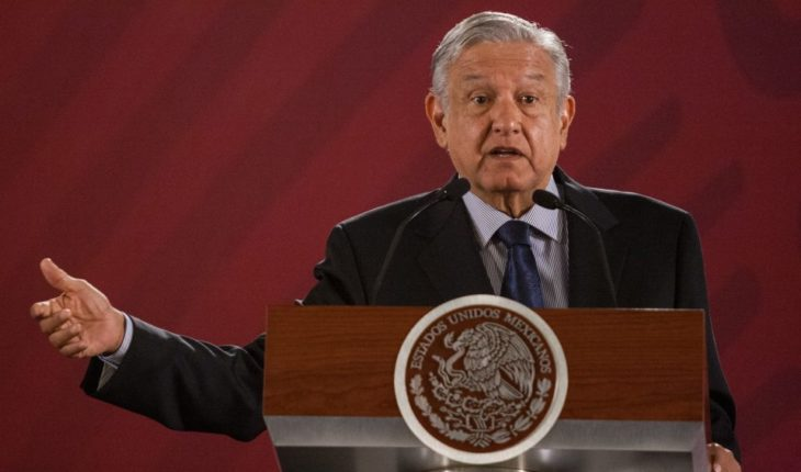 AMLO about the light of the World event