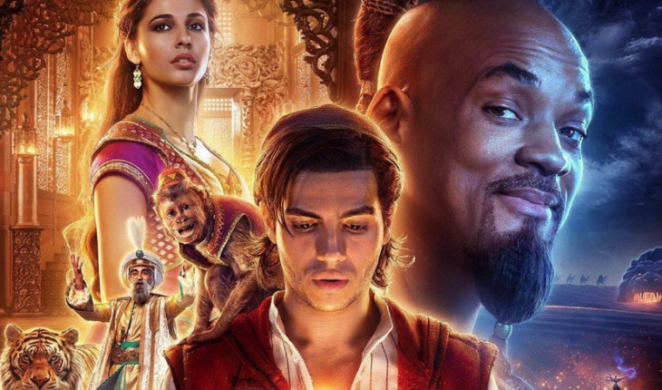 Aladdin, with Will Smith, arrives this weekend to the Billboard