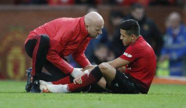 Alarms turn on: Alexis Sanchez got injured in Manchester United tie