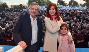 """Alberto Fernandez: """"It is the time of all to take the country out of prostration"""""""