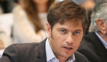 """Axel Kicillof: """"They came to the government with a scam"""""""