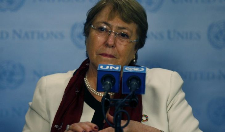 """Bachelet about Venezuela: """"We urge political leaders to establish meaningful discussions in order to resolve the current crisis"""""""
