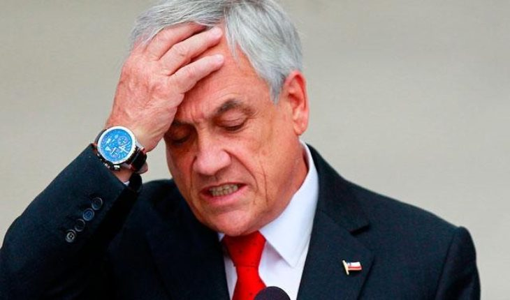 Bad news for Piñera: Presidential approval continues to fall and reaches only 33% according to Cadem