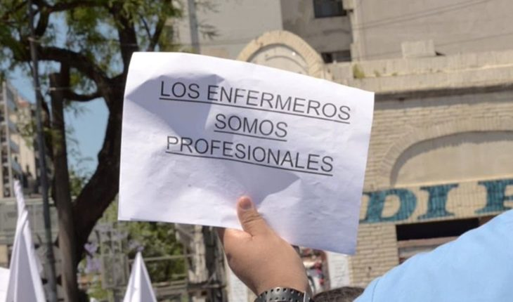 Between the crisis and the indifference of the government: to be a nurse in Argentina