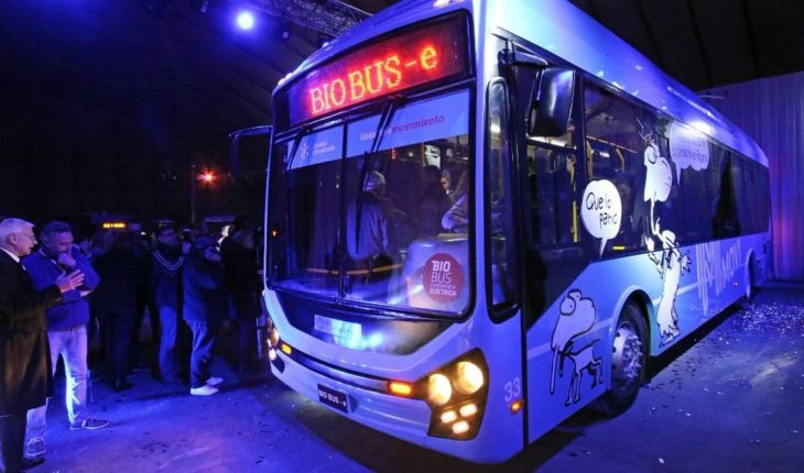 BioBus-E: The first electric trolley made in Rosario