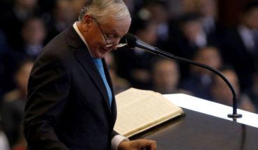 Bishop Eduardo Durán renounced the presidency of the Pentecostal Methodist Church