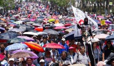 CNTE March against new educational reform
