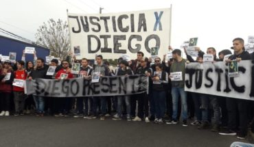 Call for justice by Diego Cagliero: Denounce the police killed him