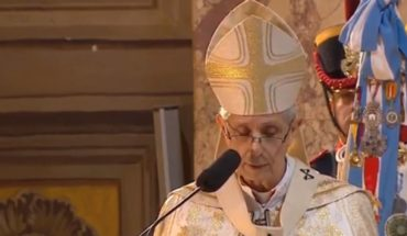 """Cardinal Poli in the Te Deum asked to go to """"a great national pact"""""""