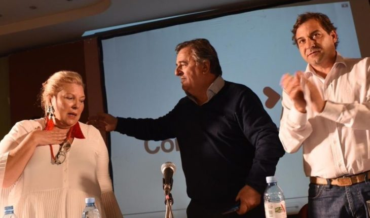 """Carrió agitates The internal one: """"To travel Cordoba was to know that it won Schiaretti"""""""