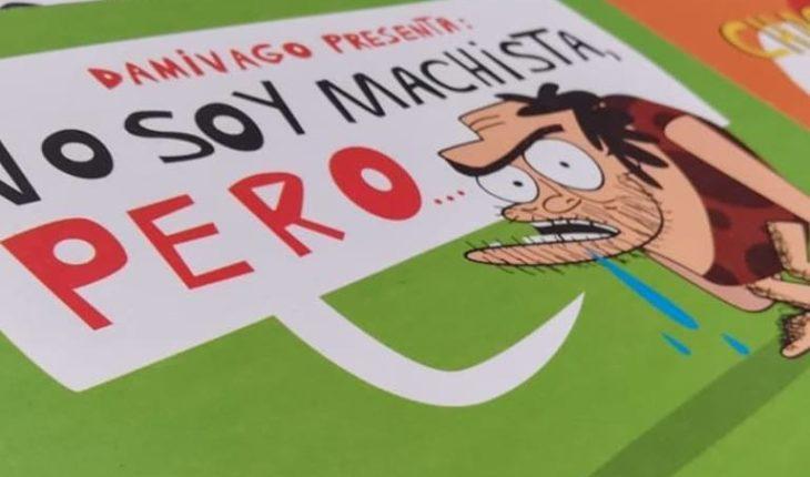"Cartoonist Antofagastino Damivago launches book ""to eradicate the machismo of women and men of Chile"""