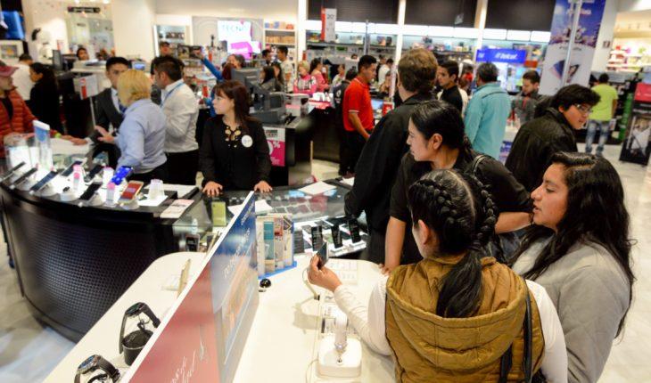 Consumer confidence index Falls