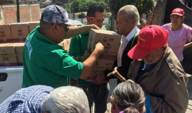 DIF Morelia delivers to 150 marginalized colonies, food assistance