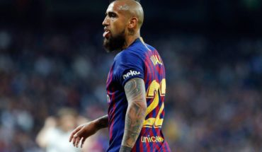 Despite the income of Vidal Barcelona lost to Valencia the cup of the King