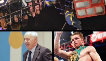 Drama in amusement park, horror in El Calafate, Lavagna responded to change, Canelo champion and more...
