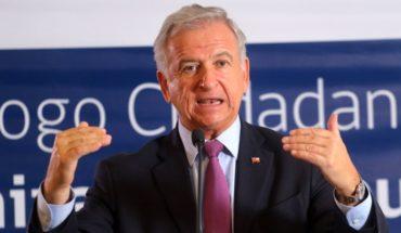 """Felipe Larraín: """"I sleep calmly with the growth projection of 3.5%"""""""