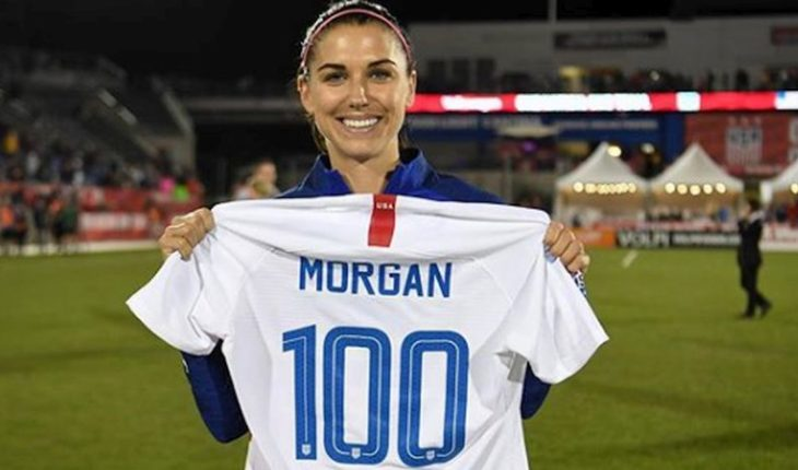 Female Red: Alex Morgan leads USA roster for the World Cup in France