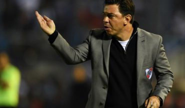 """For Gallardo, River can """"turn the result"""" to Atlético Tucumán"""