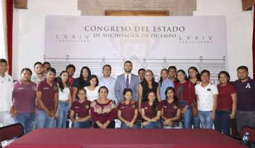 GPPRD's young commitment to the Congress of Michoacán