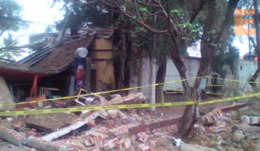 Gas tank explosion in a restaurant shakes the inhabitants of Los Reyes, Michoacán