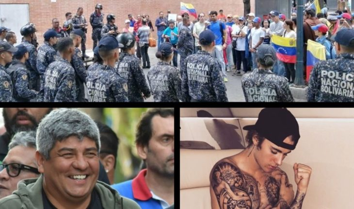 Guaidó defied mature, Moyano seeks to defeat MACRI, Justin Bieber controversial, Icardi against fans of Inter and more...