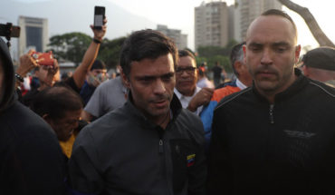 """Guided said that if Maduro tries to stop to Leopoldo López """"would be a threat of war"""""""