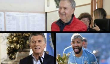 He closed the vote in Cordoba, Macri against drug trafficking, Manchester City bichampion of the Premier League and much more...