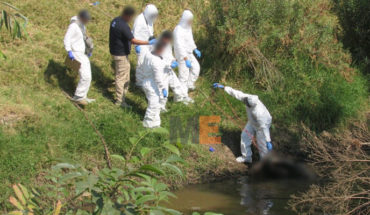 He was a taxi driver the man found dead in a river of black waters of Morelia