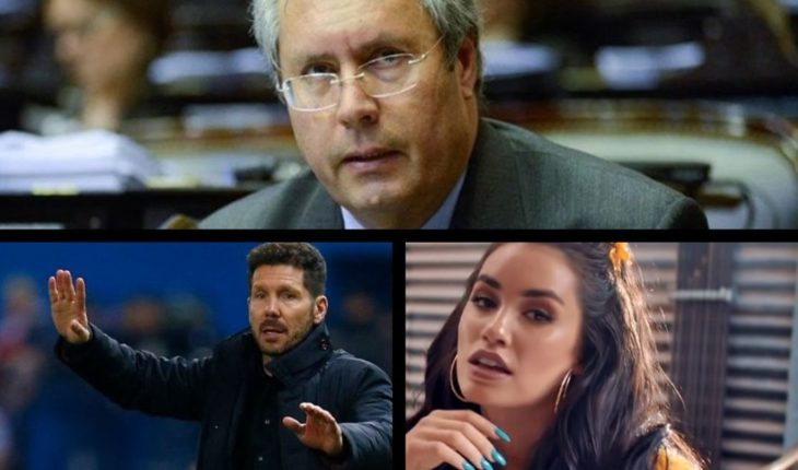 Health of the congressman Olivares, message from Guaidó to Macri, Simeone on the selection, Lali released Videoclip and much more...