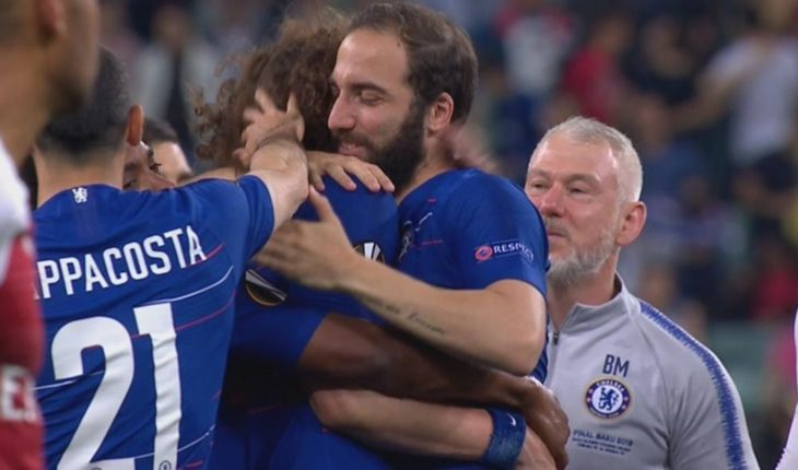 """Higuaín and David Luiz responded to rumors of fighting: """"These are things that happen"""""""