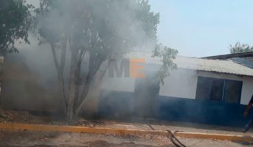 Home is burned in Apatzingán by explosion of a cell phone