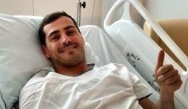 """Iker Casillas is evolving """"favorably"""" and leaves the ICU"""