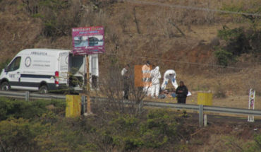 In Erongarícuaro community, they locate when killed with bullet impacts