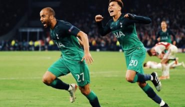 Lucas takes all the flashes: Tottenham's comeback in the world