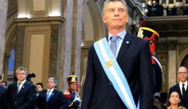 "MACRI: ""No matter why, it is enough that we remember that they had not done"""
