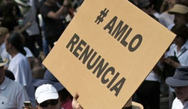 March in several dissatisfied states with AMLO