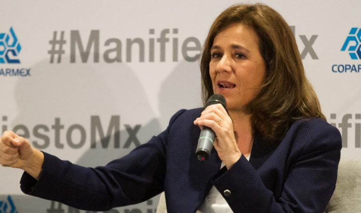 Margarita Zavala fined with 24000 pesos for irregularities when collecting support signatures at 2018