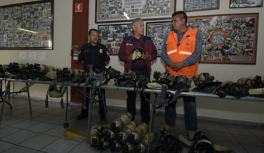Morelia firefighters receive first-class equipment to improve their working conditions