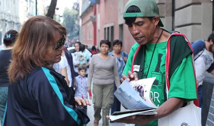 My Valeer, a magazine that helps street populations in CDMX