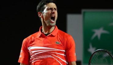 Of the colt lost to Djokovic in quarters of Rome and now goes by Schwartzman