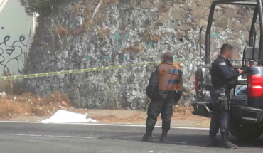 Old man dies after being hit on the road to Paracho, Michoacán