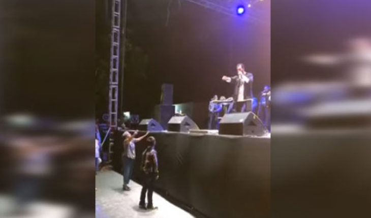 Pablo Montero is accused of being drunk and sending two disabled women out of his show (Video)