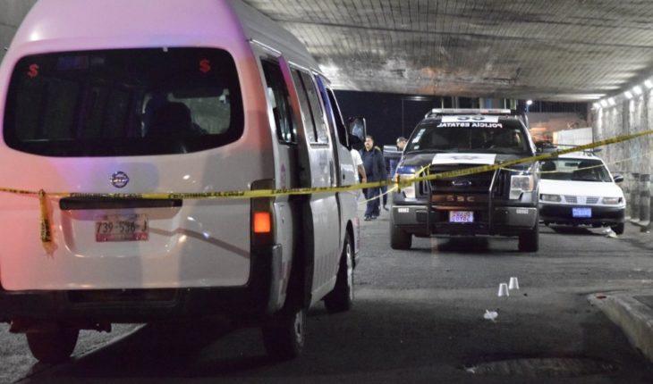 Passenger shot in transport assault